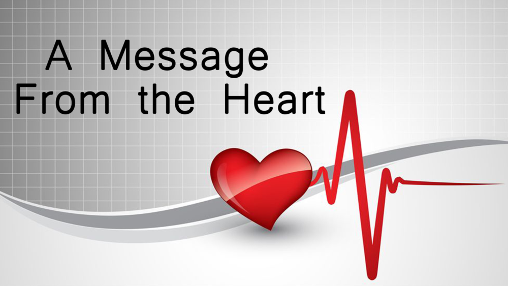 A Message from the Heart Image